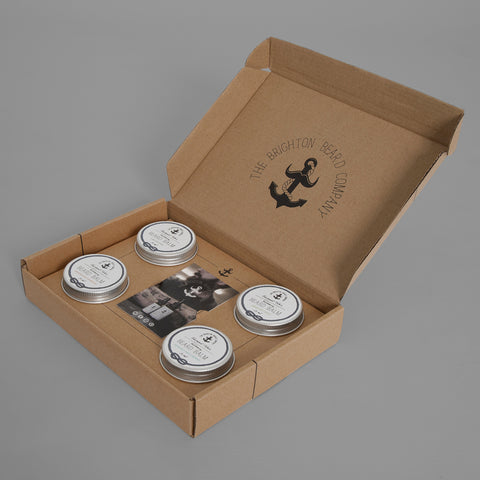 Creampot Tom's | The Collection // Beard Balm Gift Set
