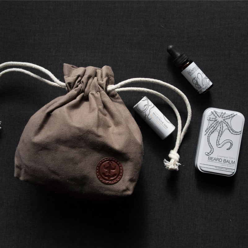 beard gift set oil balm wax