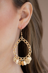Paparazzi Street Appeal - Gold Earrings