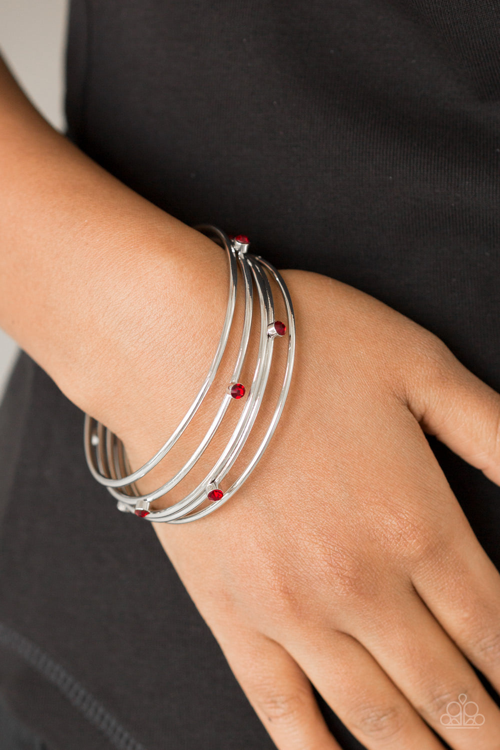 Delicate Decantence Red Bracelet