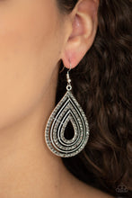 Load image into Gallery viewer, 5th Avenue Attraction Silver Earrings