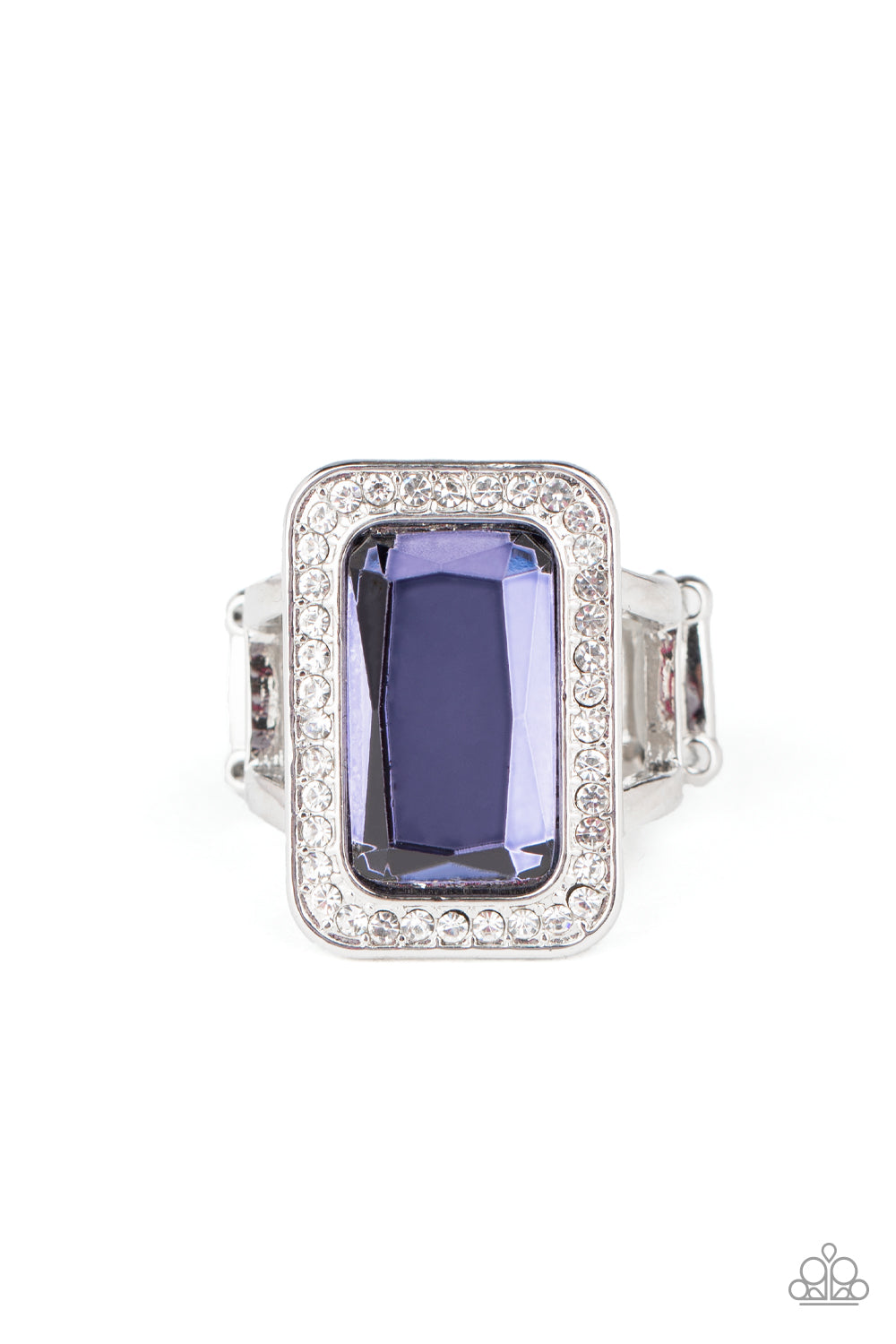 Paparazzi Crown Jewel Jubilee - Purple Ring New