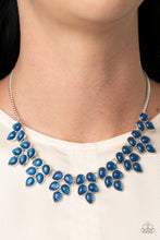 Load image into Gallery viewer, Hidden Eden - Blue Necklace Paparazzi Accessories New