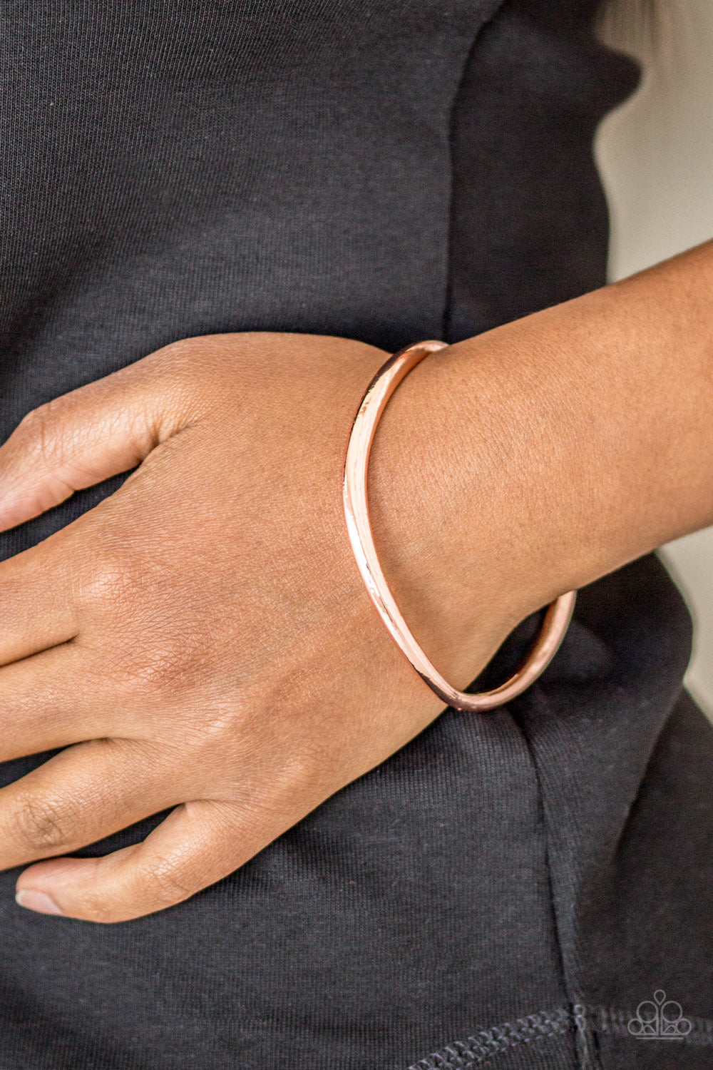 Awesomely Asymmetrical Copper Bracelet