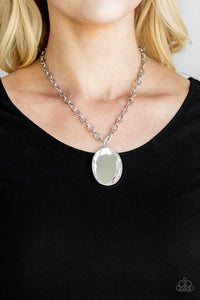 Light as Heir White Necklace Paparazzi Accessories