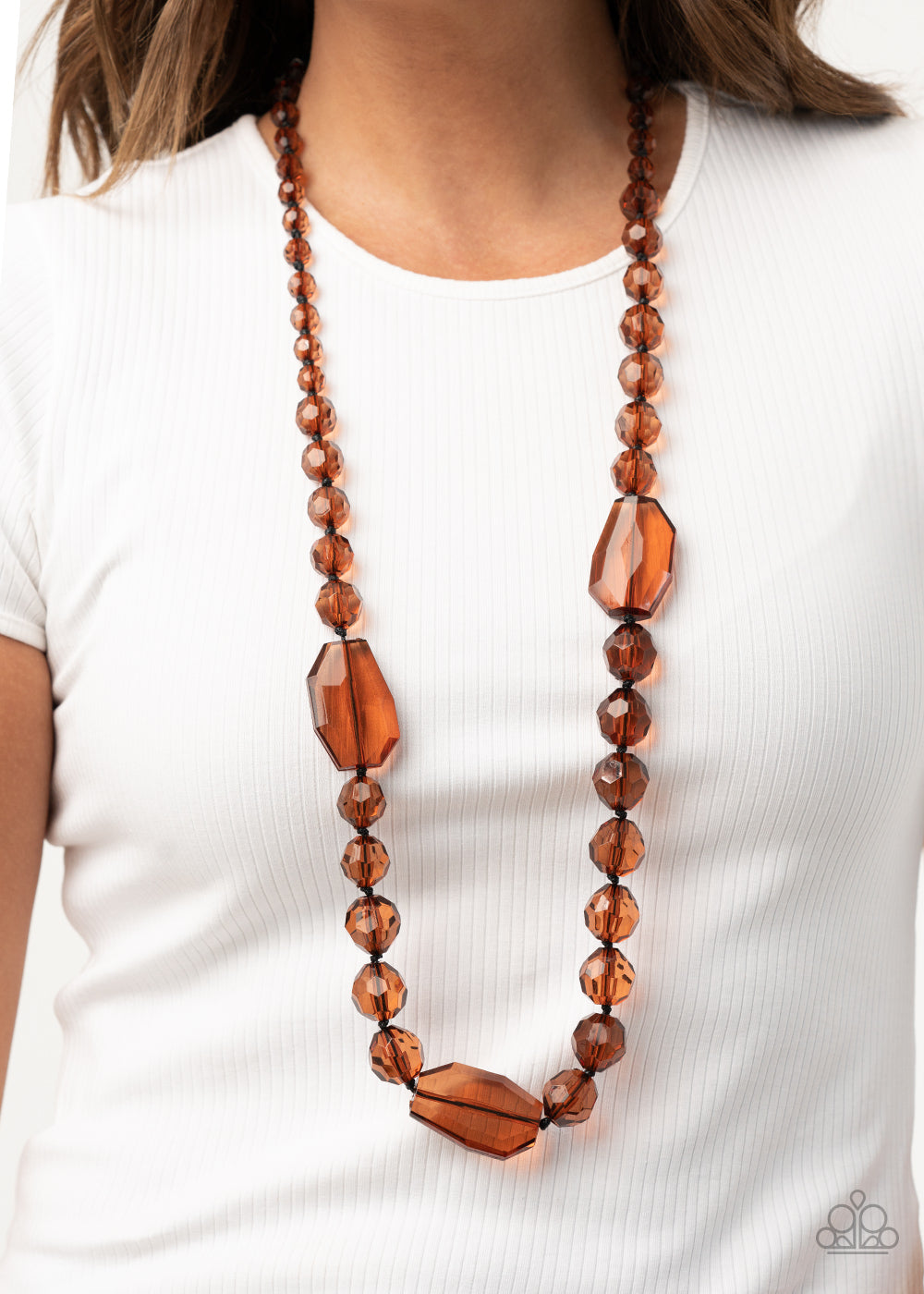 Malibu Masterpiece - Brown Necklace Paparazzi Accessories New