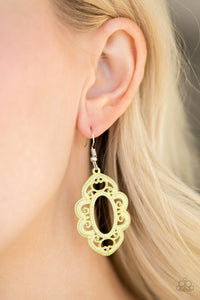 Paparazzi Mantras and Mandalas Yellow Earrings
