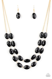 Max Volume - Black Necklace Paparazzi Accessories New