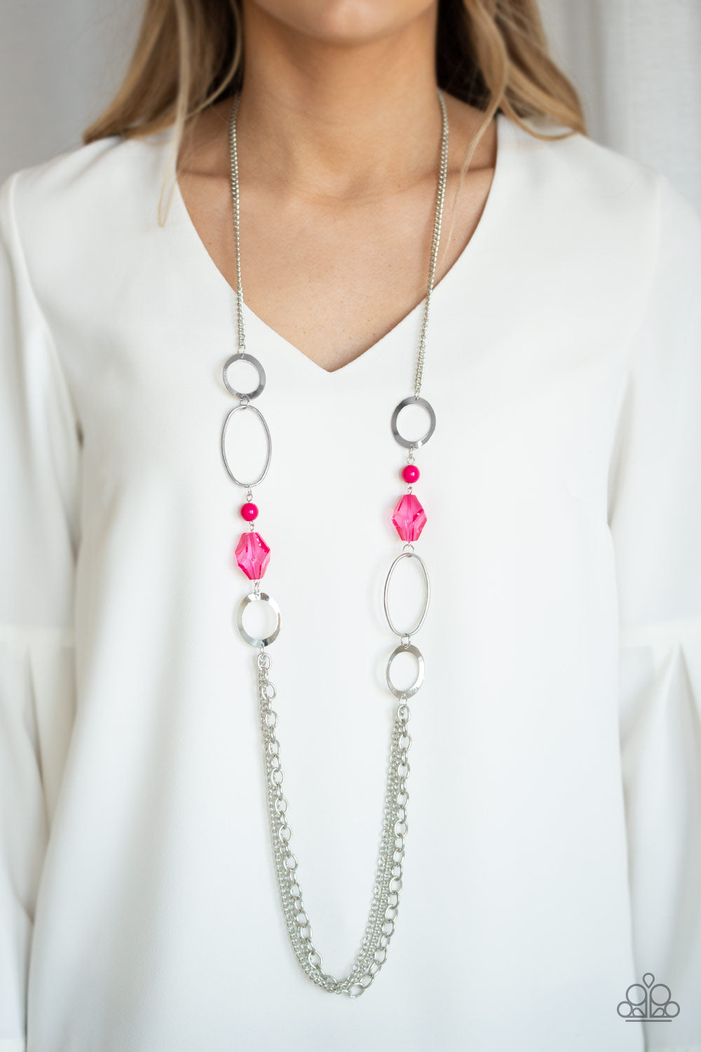 Jewel Jubilee Pink Necklace