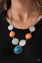 Load image into Gallery viewer, Paparazzi Bohemian Bombshell - Multi Colored Stones Necklace