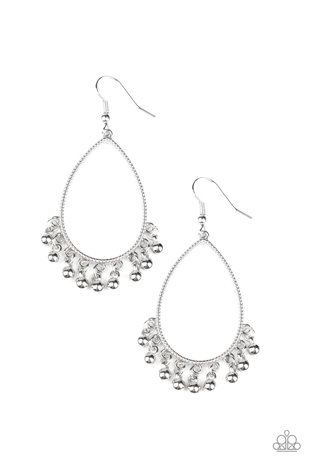 Paparazzi Country Charm Silver Earrings