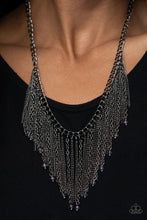 Load image into Gallery viewer, Cue The Fireworks - Multi Colored Necklace Paparazzi Accessories New