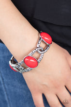 Load image into Gallery viewer, Dreamy Gleam - Red Bracelet Paparazzi Accessories New
