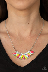 Paparazzi Extra Extravaganza - Multi Colored Necklace New