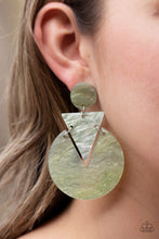 Load image into Gallery viewer, Head Under Watercolors Multi Post Earrings