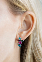 Load image into Gallery viewer, Treasure Treat - Multi Colored Post Earrings Paparazzi New