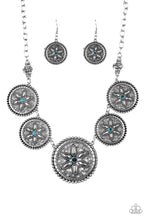 Load image into Gallery viewer, Paparazzi Written in The Star Lilies Blue Necklace
