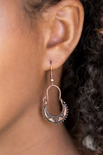 Load image into Gallery viewer, Paparazzi Industrial Copper Earrings