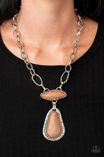 Load image into Gallery viewer, Rural Rapture - Brown Necklace Paparazzi Accessories New