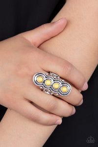 Paparazzi Terra Trinket - Yellow Ring