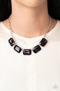 Deep Freeze Diva - Purple Necklace Paparazzi Accessories New