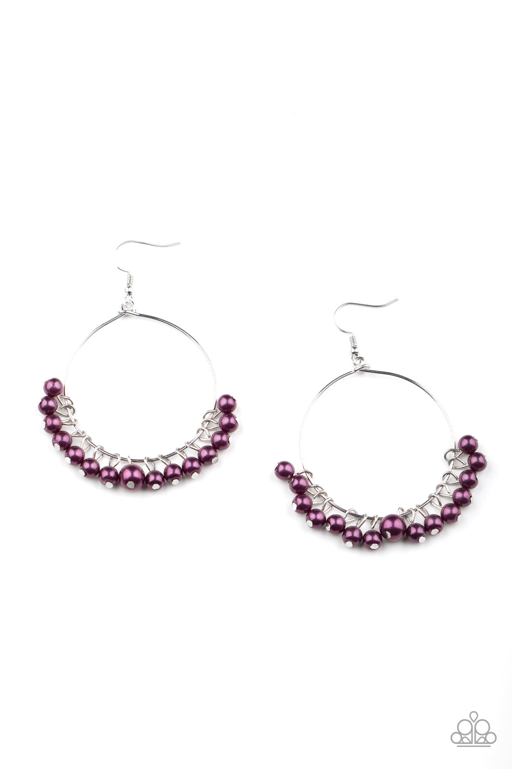 Things Are Looking UPSCALE - Purple Earrings Paparazzi Accessories