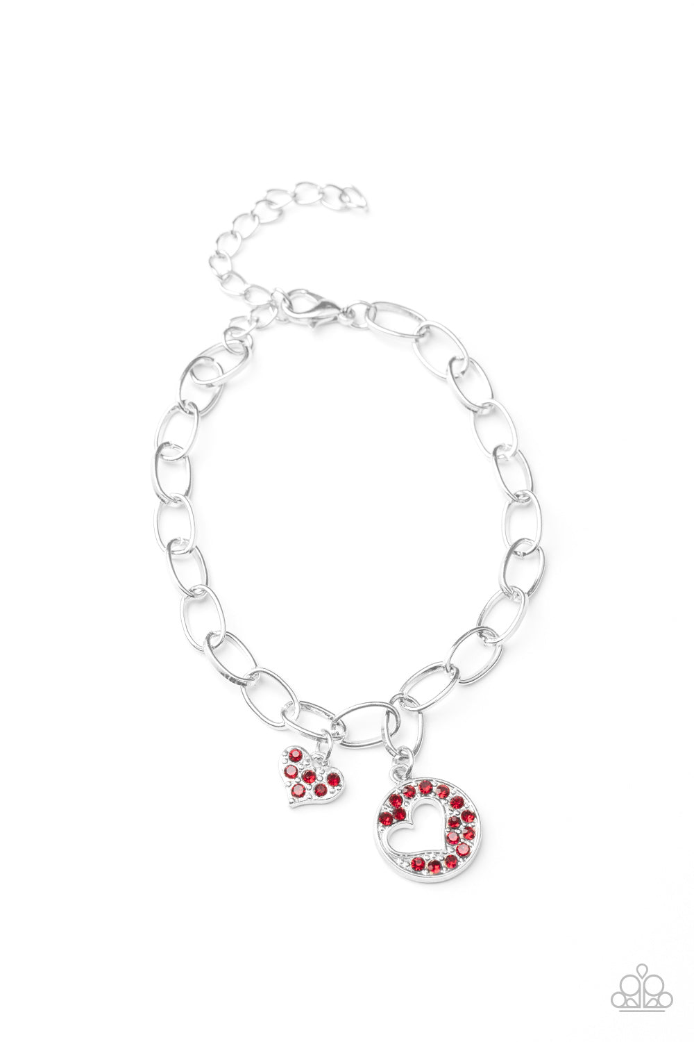 Move over Matchmaker! - Red Heart Bracelet Paparazzi Accessories New