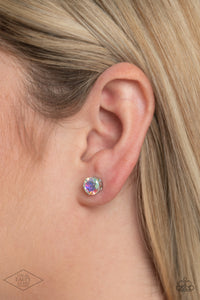 Come Out On Top - Multi Colored Post Earrings Paparazzi Accessories New