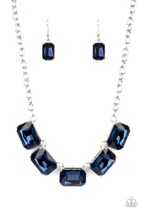 Deep Freeze Diva - Blue Necklace Paparazzi Accessories New
