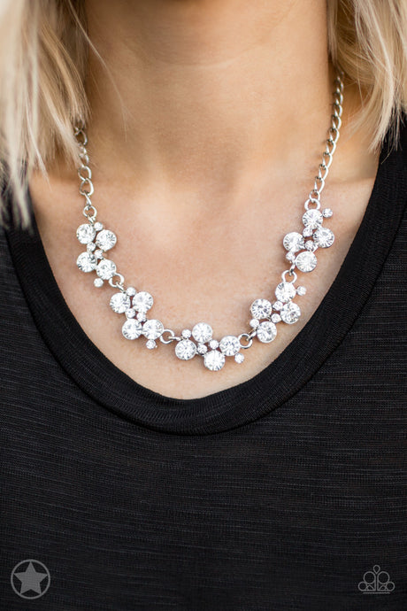 Hollywood Hills White Necklace Blockbuster