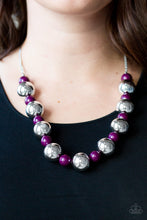 Load image into Gallery viewer, Top Pop - Purple Necklace Paparazzi Accessories New