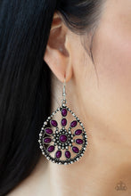 Load image into Gallery viewer, Free To Roam - Purple Earrings Paparazzi New