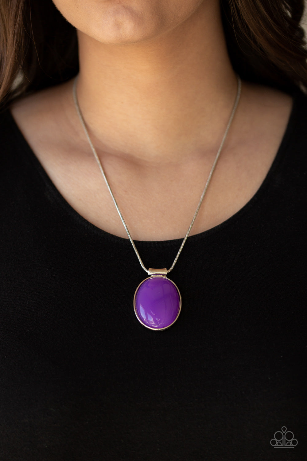 Paparazzi Rising Stardom Purple Necklace