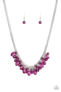 5th Avenue Flirtation Purple Necklace