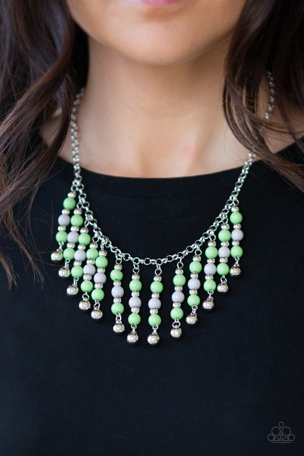 Paparazzi Your Sundae's Best Green Necklace
