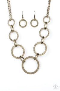 City Circus Brass Necklace Paparazzi Accessories