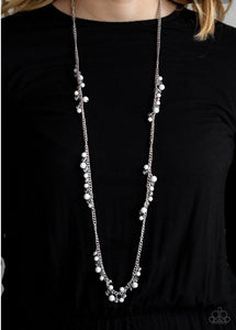 Paparazzi Miami Mojito White Bead Necklace