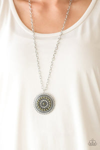 Lost SOL Green Necklace