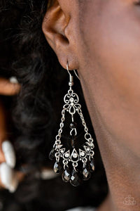 Paparazzi Malibu Sunset Black Earrings