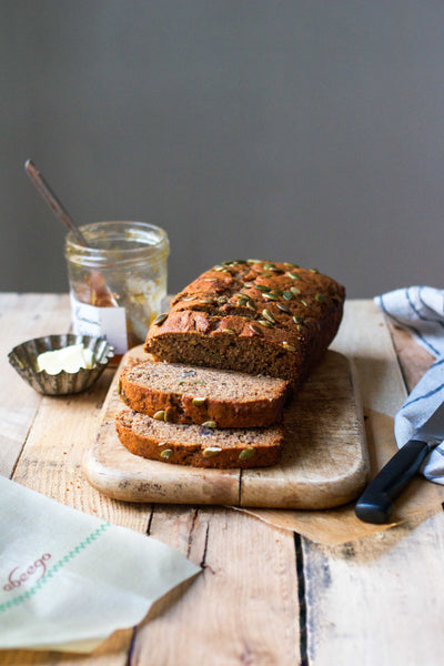 Fuel Summer Fun  |  A Healthy Wholegrain Banana Bread Recipe
