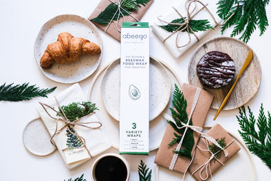 Zero-waste gifts from Abeego Beeswax Wraps