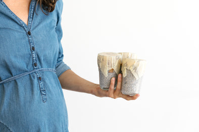 Keep Food Alive with Abeego plastic free food wrap that breathes | beeswax wraps