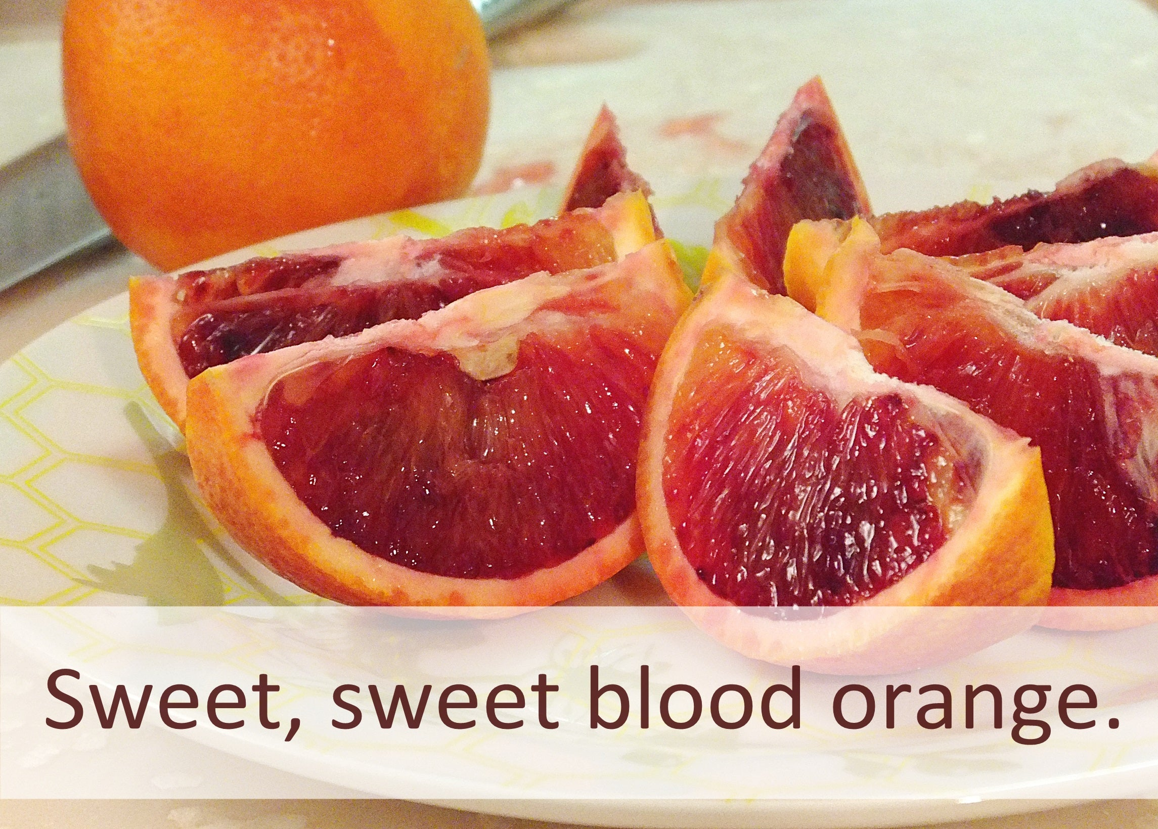 sweet blood orange