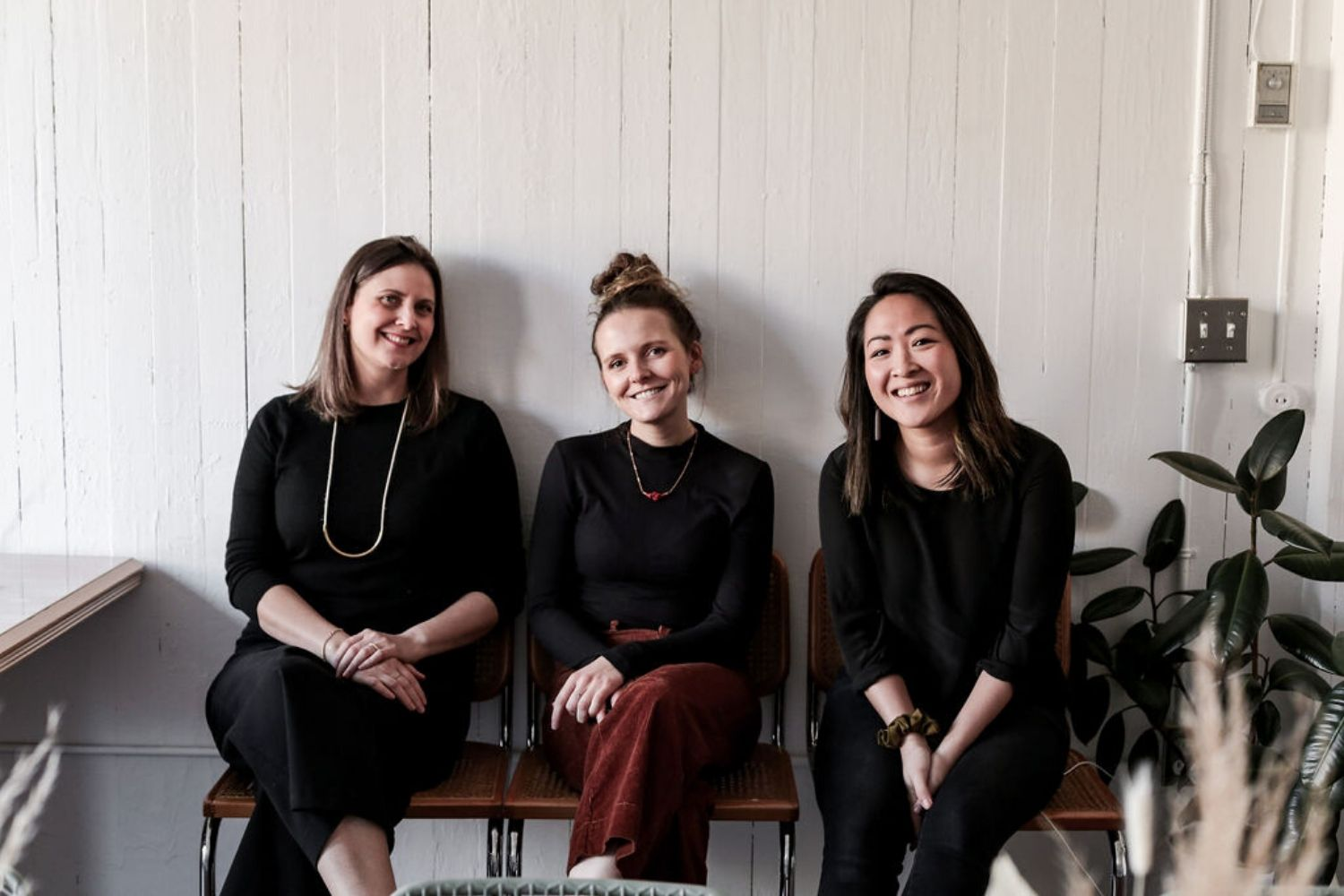 Toni Desrosiers, Melissa Fellows, Amanda Chan from Abeego at Sunday Suppers' Victoria edition