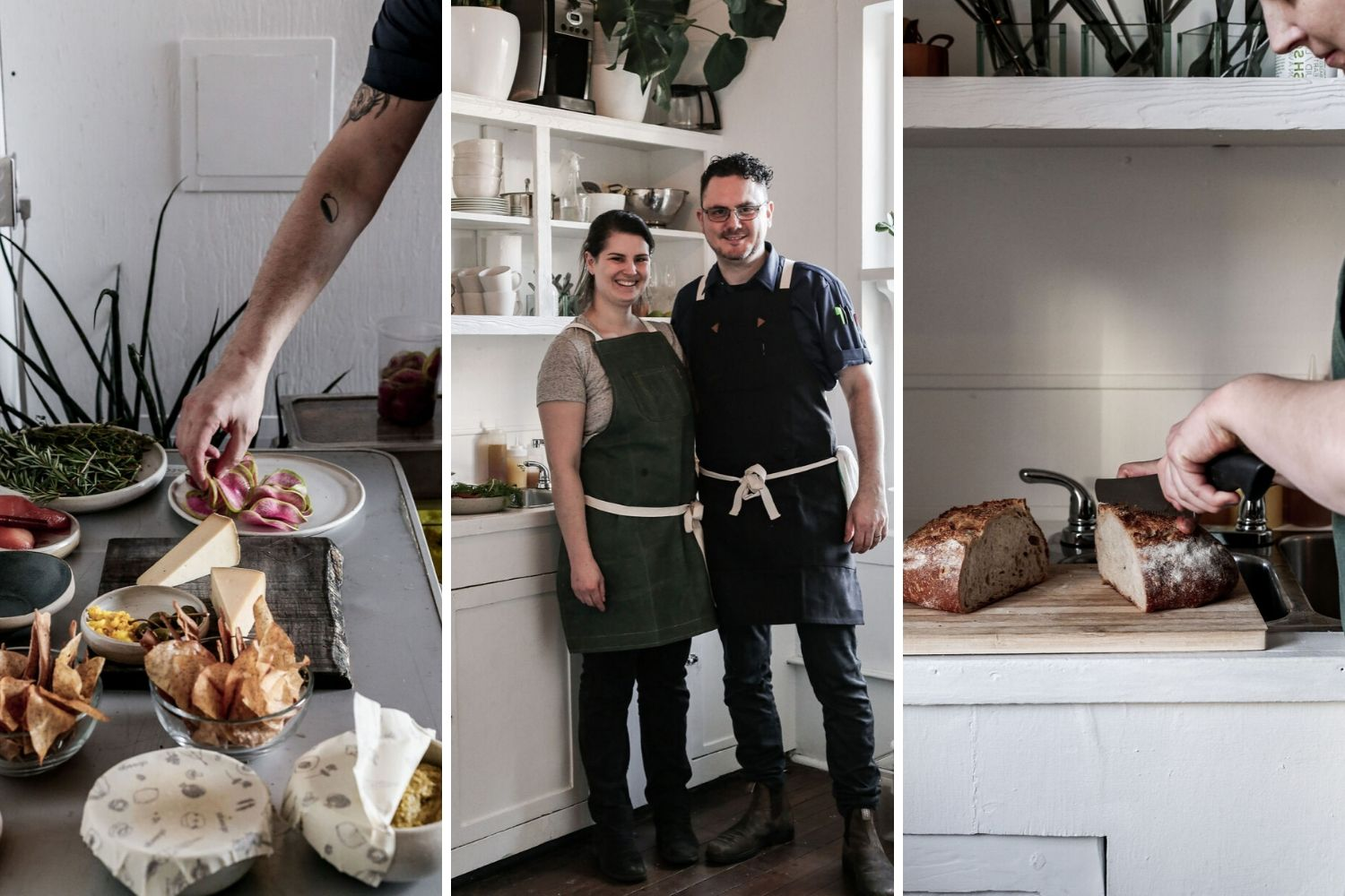 BRIAN TESOLIN & COURTNEY FRANCIS | CHEF DE CUISINE & EXEC PASTRY CHEF | ABEEGO SUNDAY SUPPERS