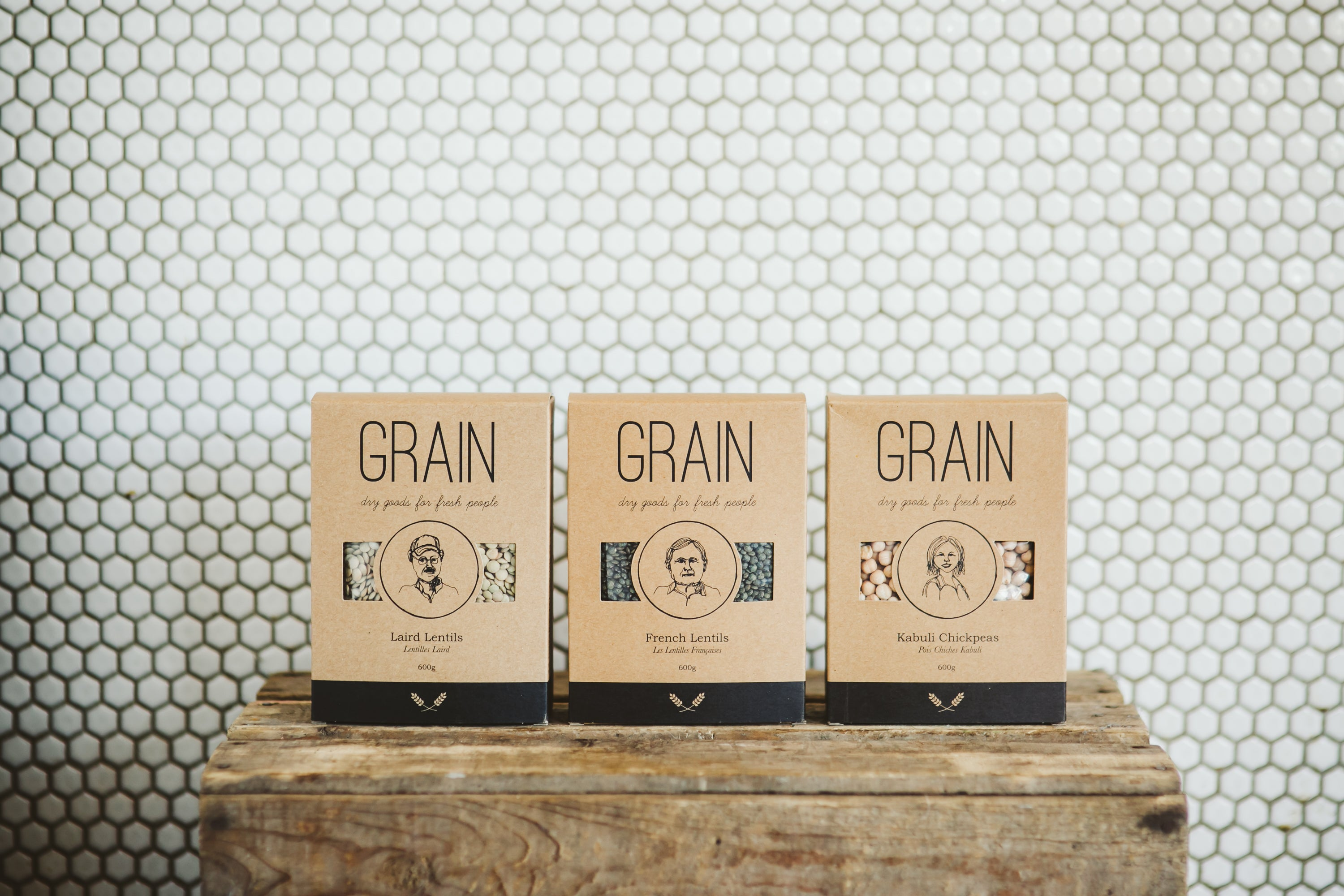 GRAIN dry goods for fresh people