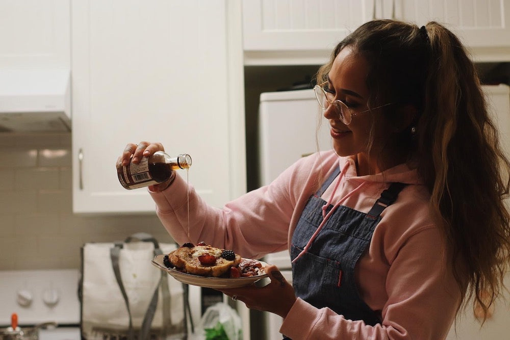 Siobhan Detkavich cooking