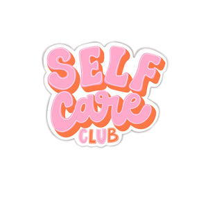 SELF CARE CLUB STICKER