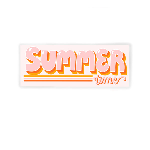 SUMMER TIME STICKER