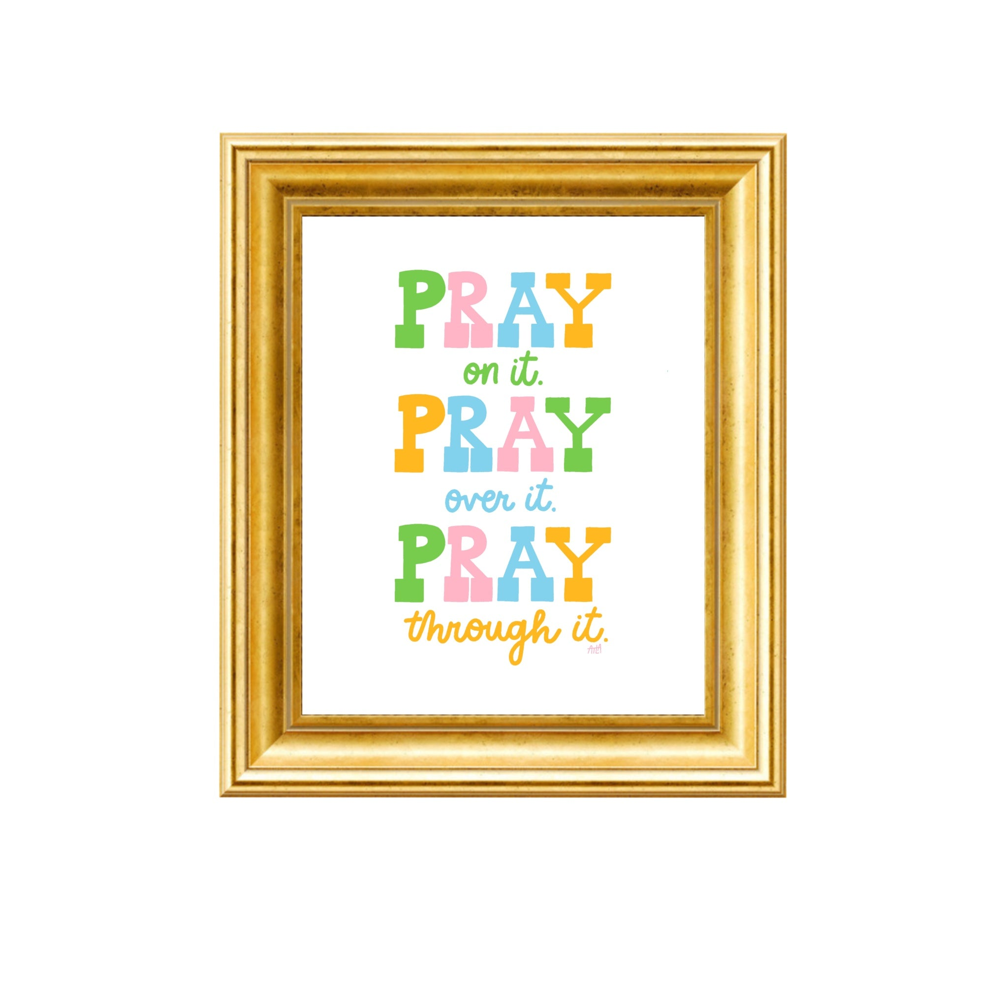 PRAY ON IT PRINT